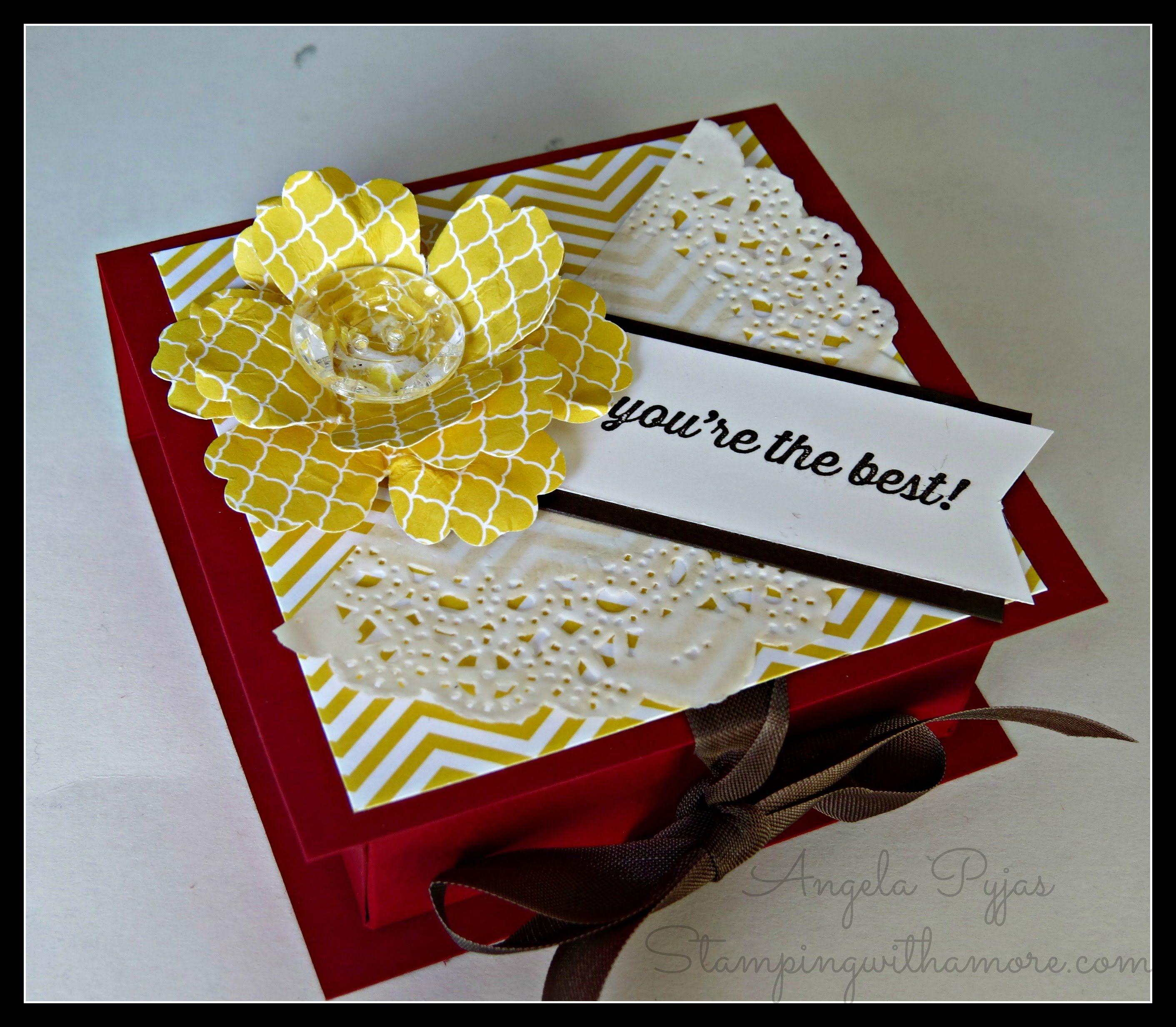 Flip Top Post it Note Box