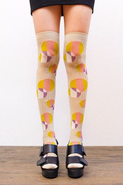 I love these socks on Koshka but they're way too expensive! $49