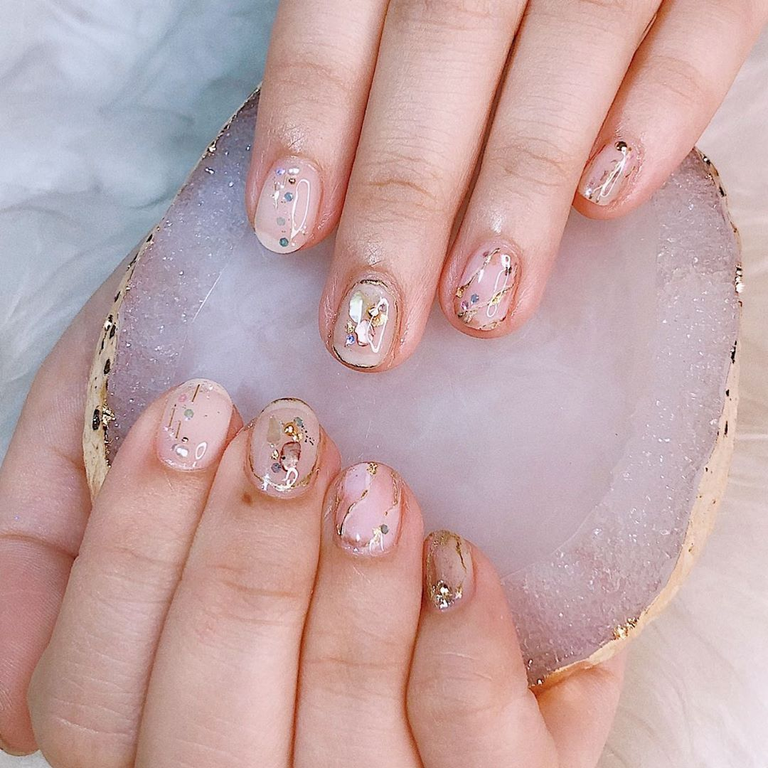 First Sneak Peak Photo Of The Most Magical Day Japan Nail Art Gel Nail Art Nail Artist