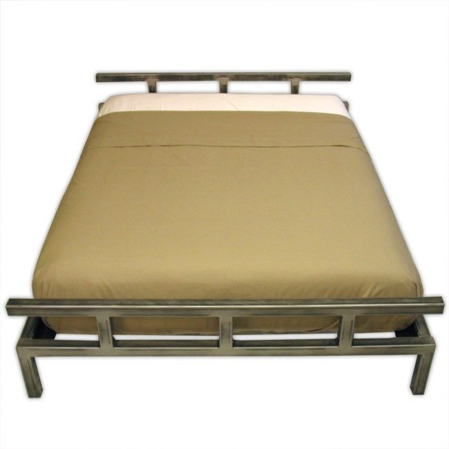 Platform Bed Frames Metal platform steel bed frameboltz | beds | boltz steel furniture