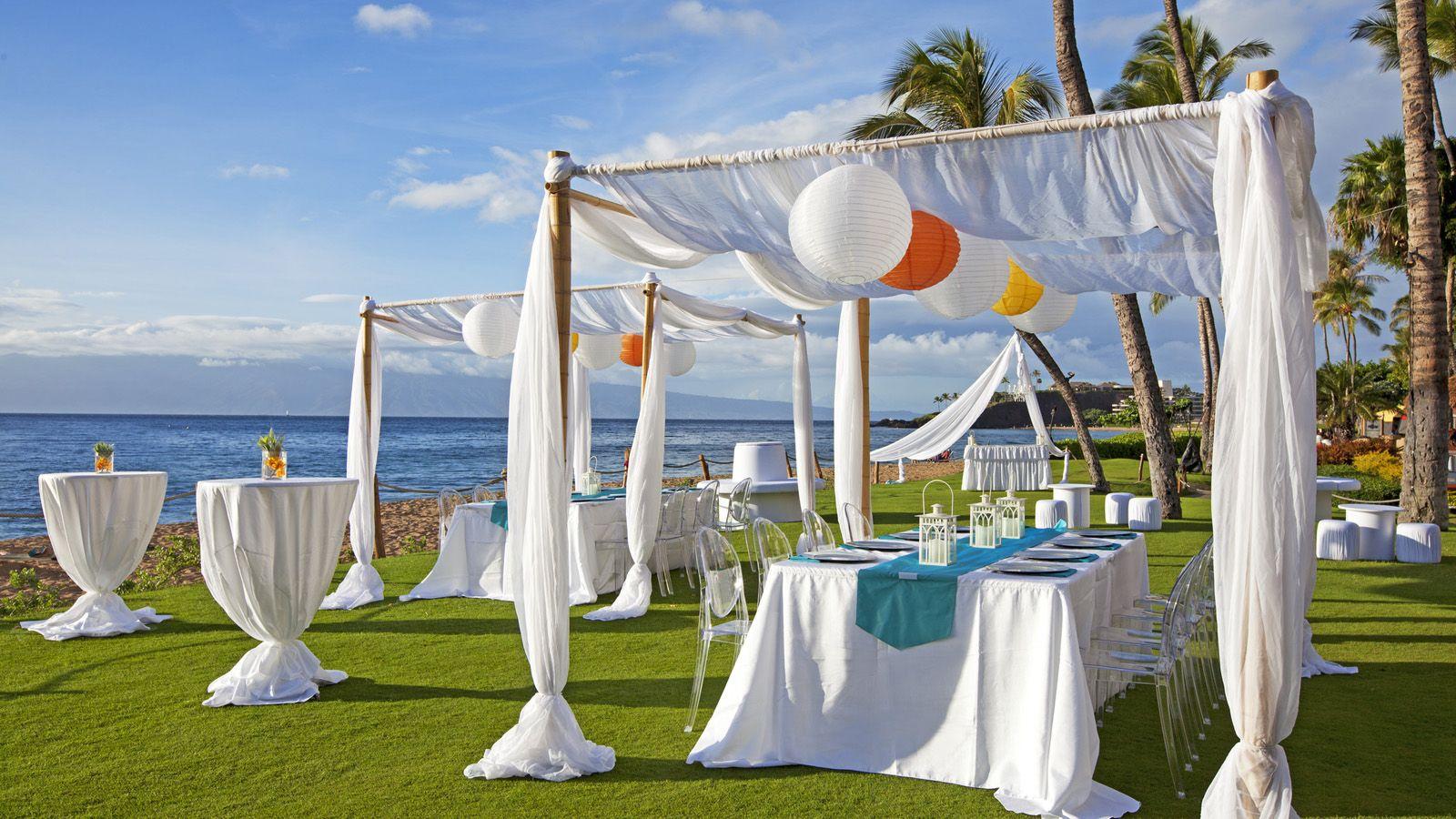 Westin Maui Wedding Reception