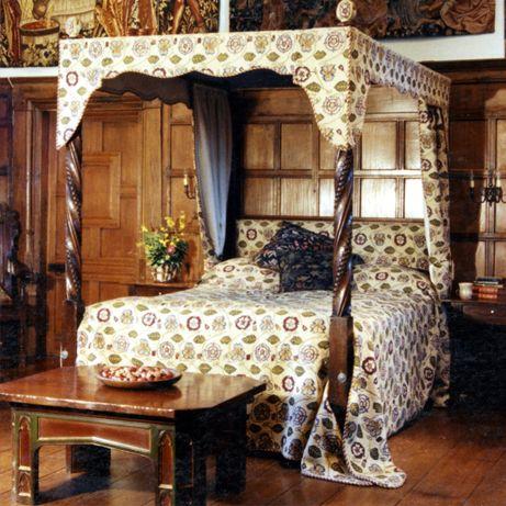 Quarto tudoriano - Inglês Cursos on line de Design de Interiores - visite o site: www.casaecia.arq.br