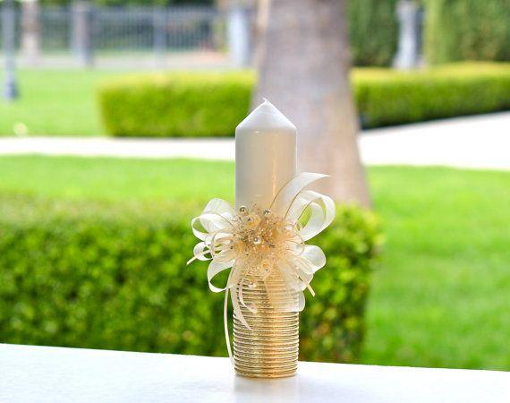Bautizo vela vela ceremonia primera comuni n bautismo - Velas decoradas para bautizo ...