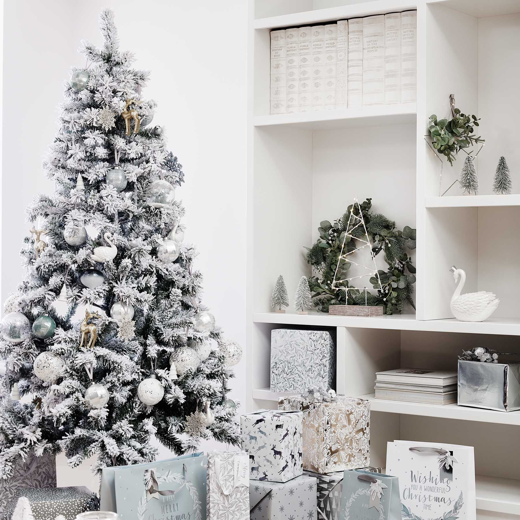 The Range Christmas Tree Lights: The Winter's Mist Range Gives Modern Silver An Organic