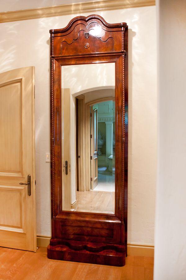 Christian VIII Floor Mirror in Mahogany, c. 1850 | BonninAshley ...