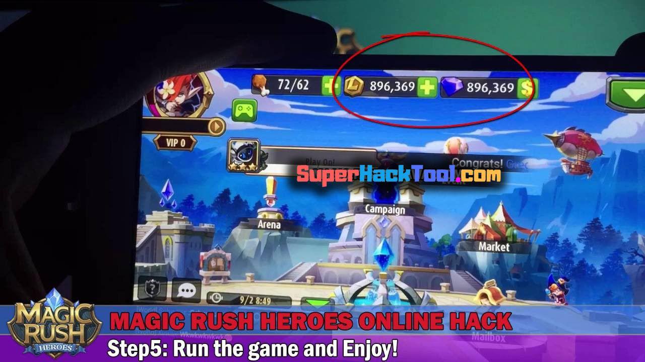 MOD APK] Magic Rush Heroes Hack No Human Verification Magic Rush