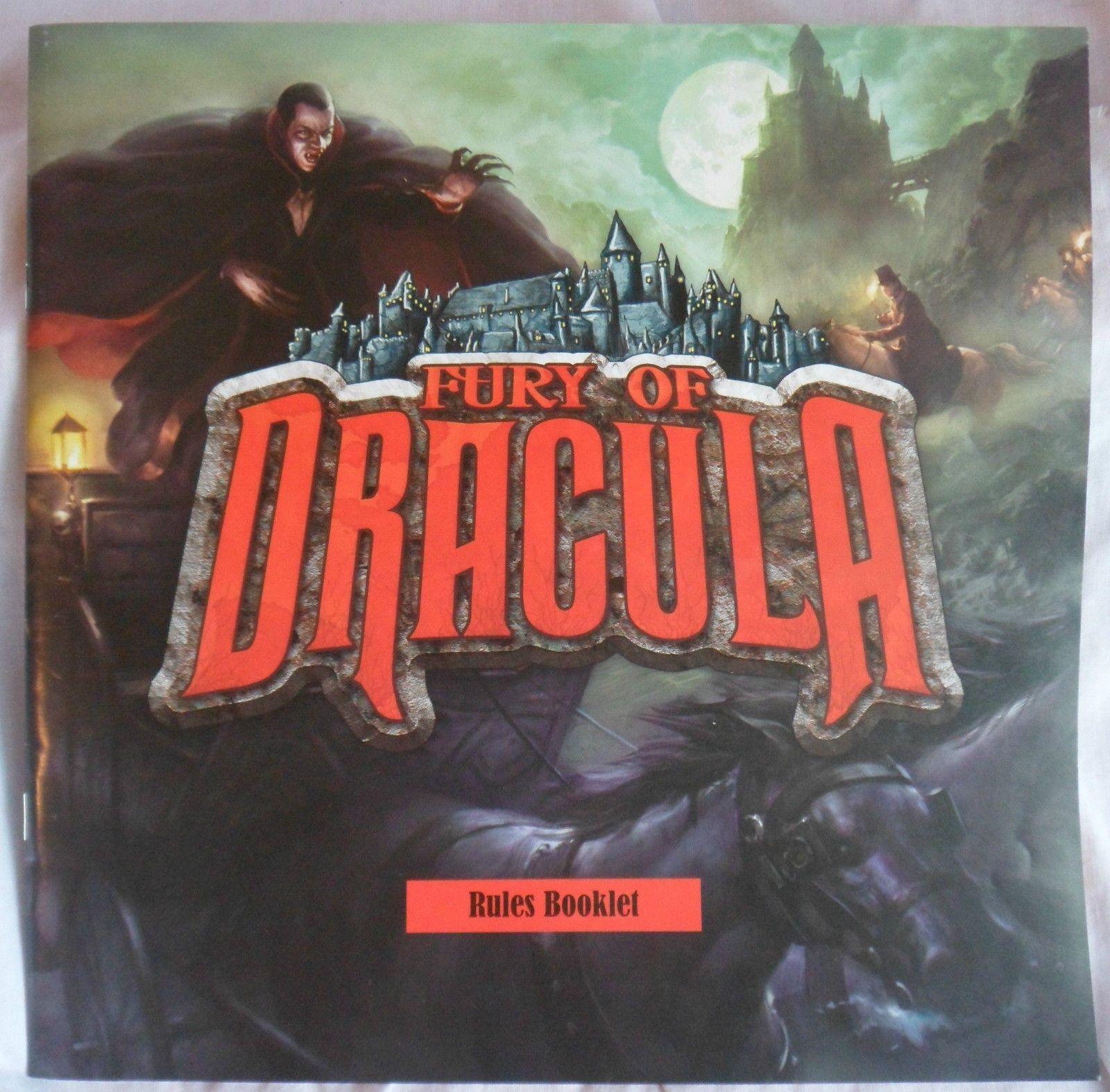 Fury of Dracula Games Fury of Dracula is a very