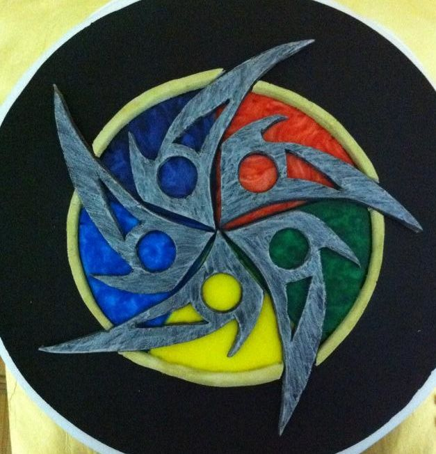 An Artist S Expression Of The Color Wheel Of The Elements In Magic