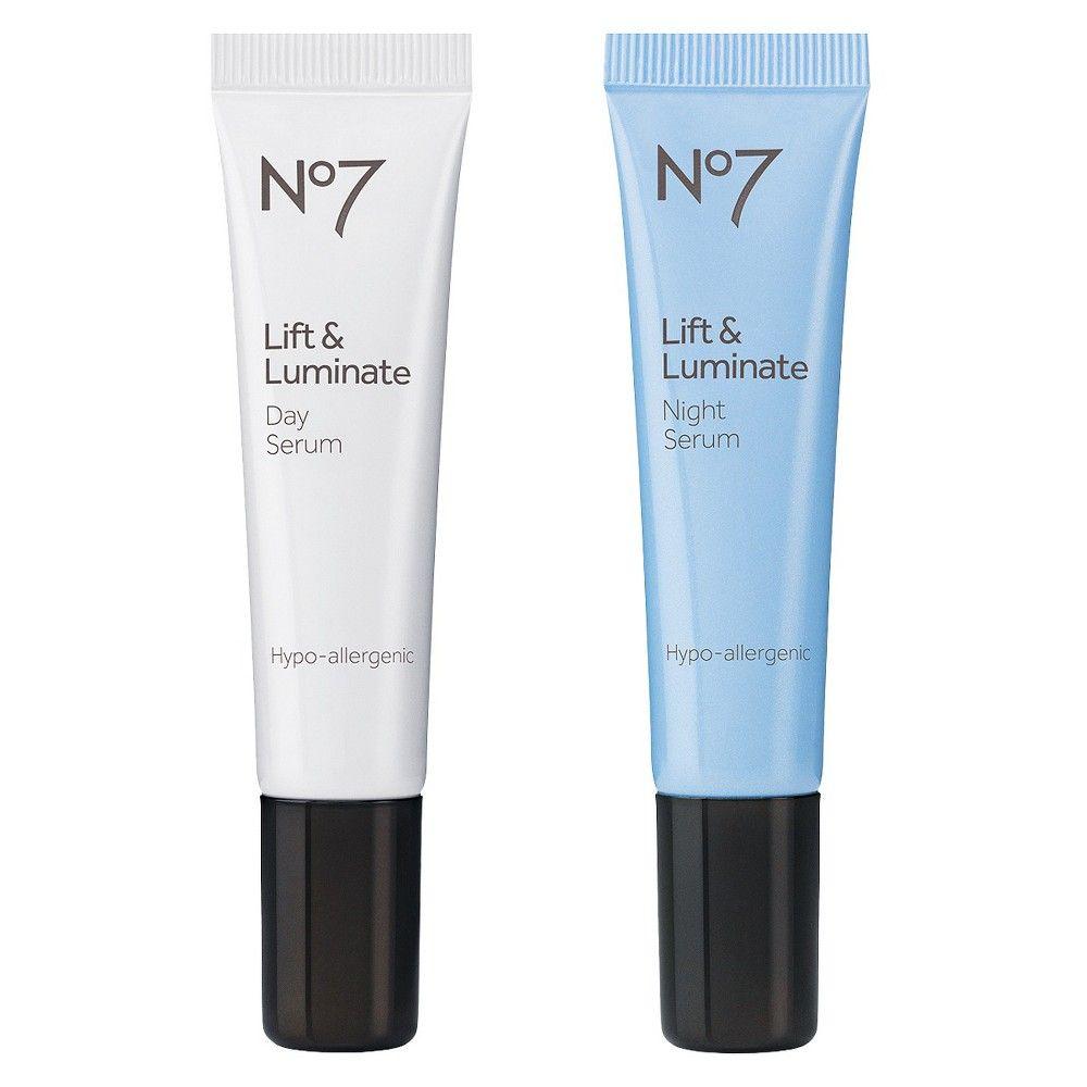 Boots No7 Lift & Luminate Day & Night Serum - 0.5 Fl Oz each