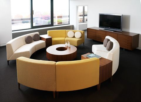 Circa Modular Seating | Nurture By Steelcase U2013 Healthcare Furniture
