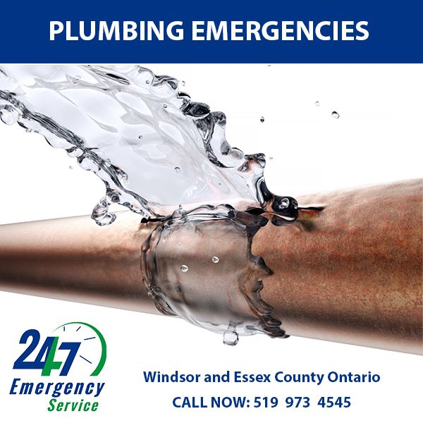 Your Plumber is your best choice for 24 hour emergency ...
