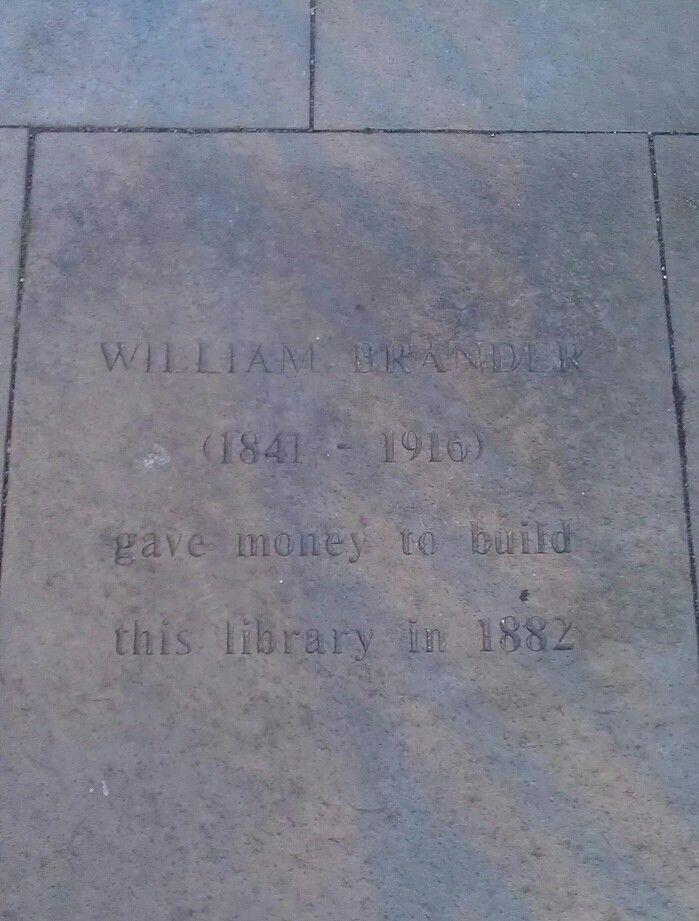 Library flagstone