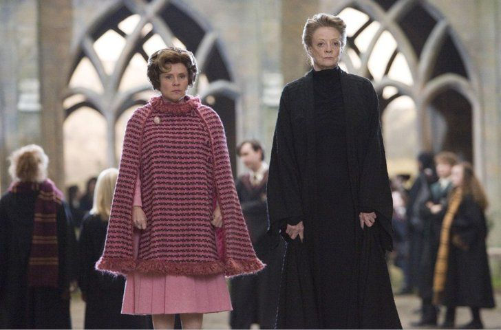 There S Nothing Wrong With Having A Signature Style Hogwarts Professors Imelda Staunton Maggie Smith