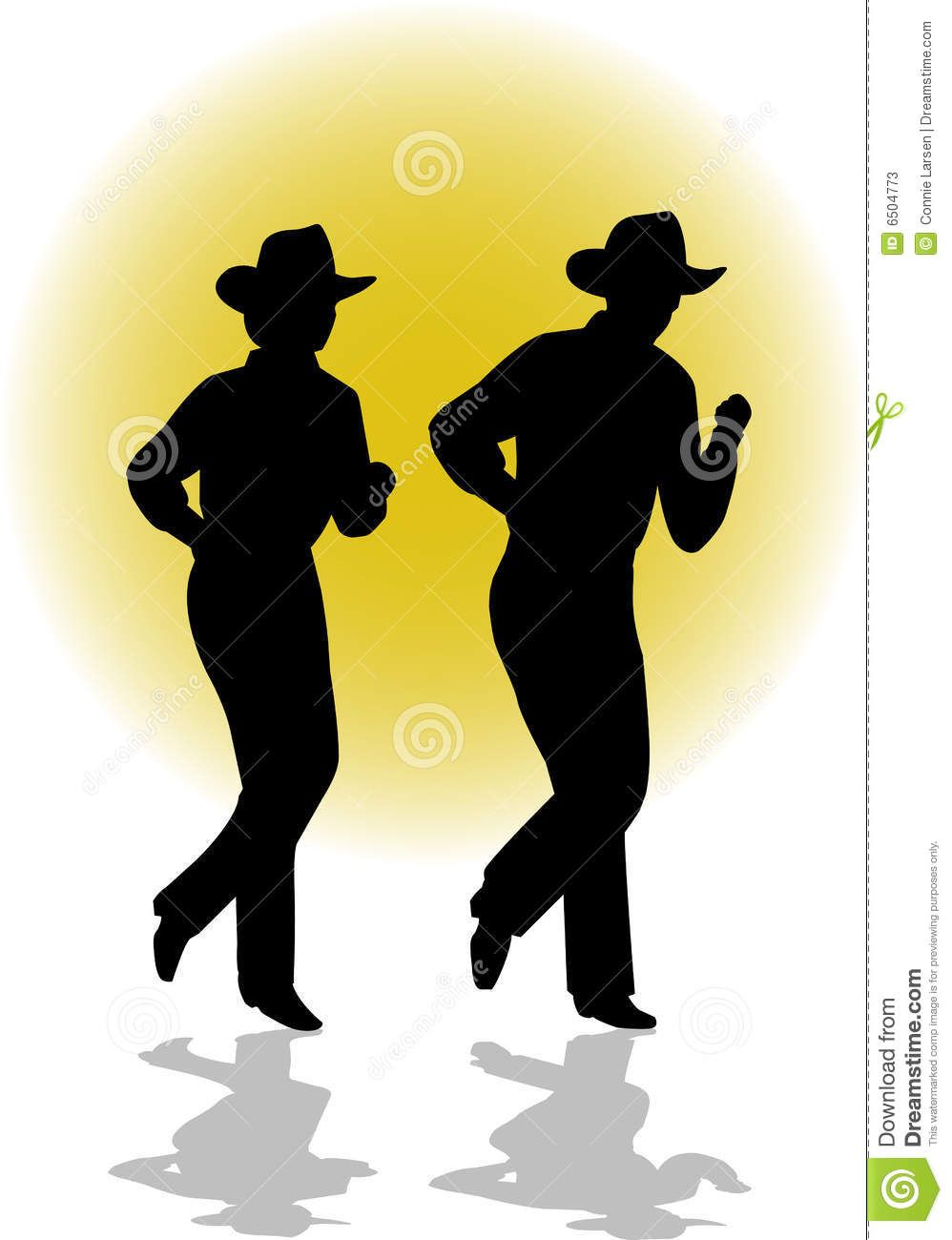 line dance silhouette | Country Line Dancing | Country ...