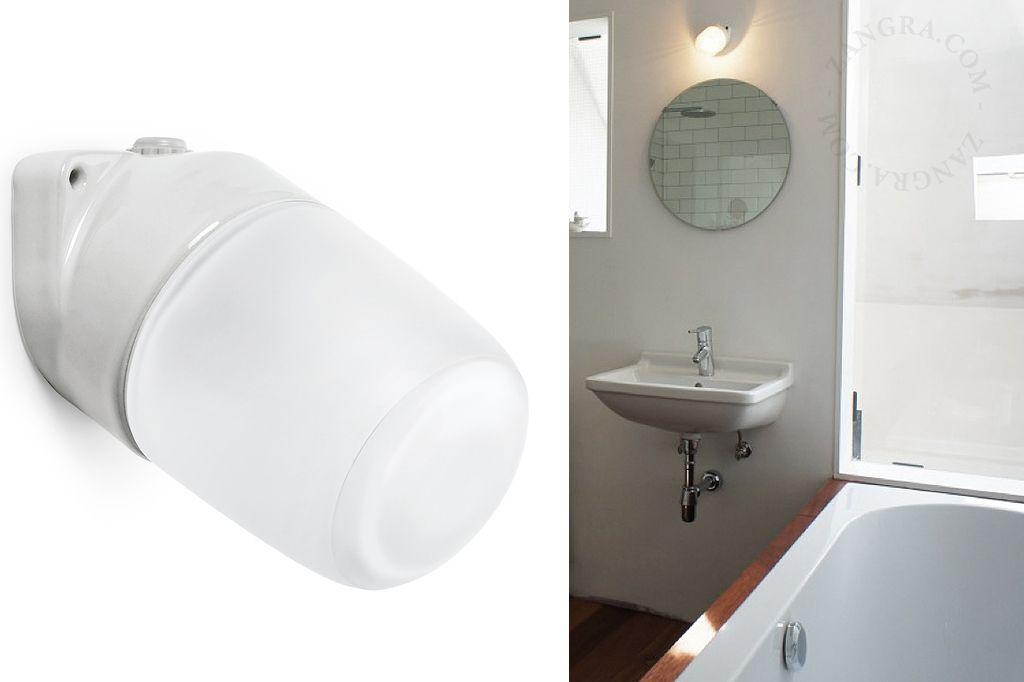Shower Room Waterproof Porcelain Lampholder Porcelain Lighting