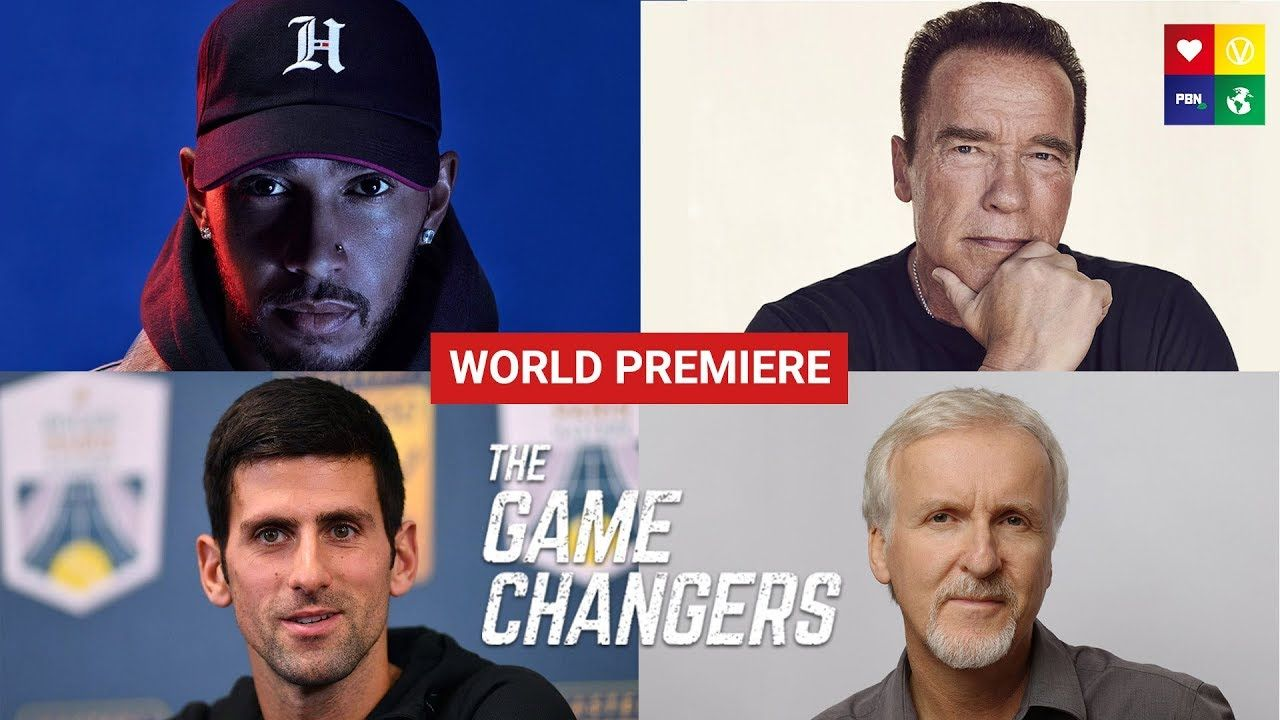 Breaking News The Game Changers Announces Release Date Official Film Trailer Youtube Vegan Documentaries Documentaries Game Changer