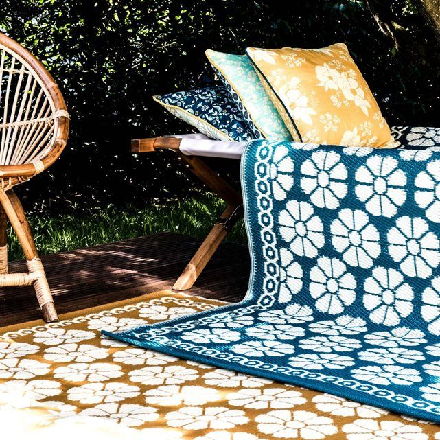 tapis indoor outdoor royal roulotte la redoute deco pinterest gardens decoration and salons. Black Bedroom Furniture Sets. Home Design Ideas