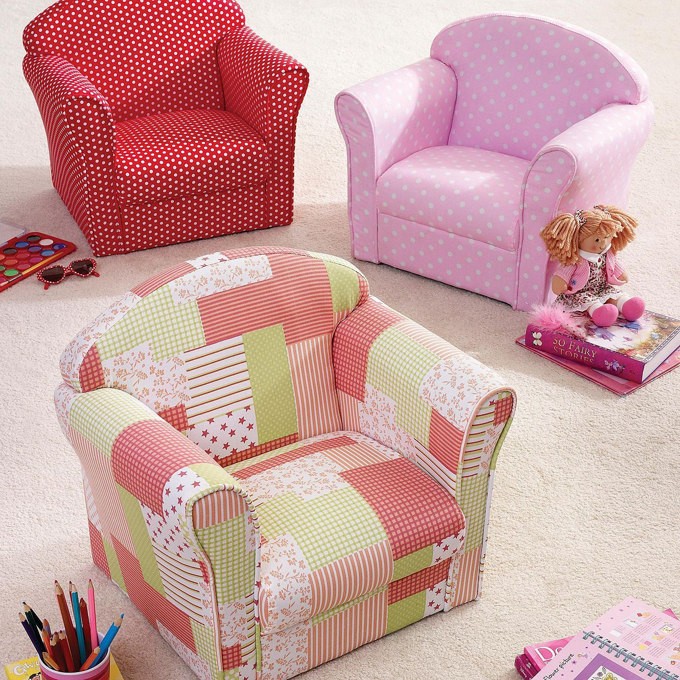 Patchwork Chair From Dunelm