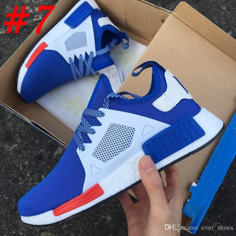 8bb1779624184 NMD XR1 Running Shoes Mastermind Japan Skull Olive green R1 Camo Glitch  Black White Blue nmds zebra Pack men women sports shoes 36-45
