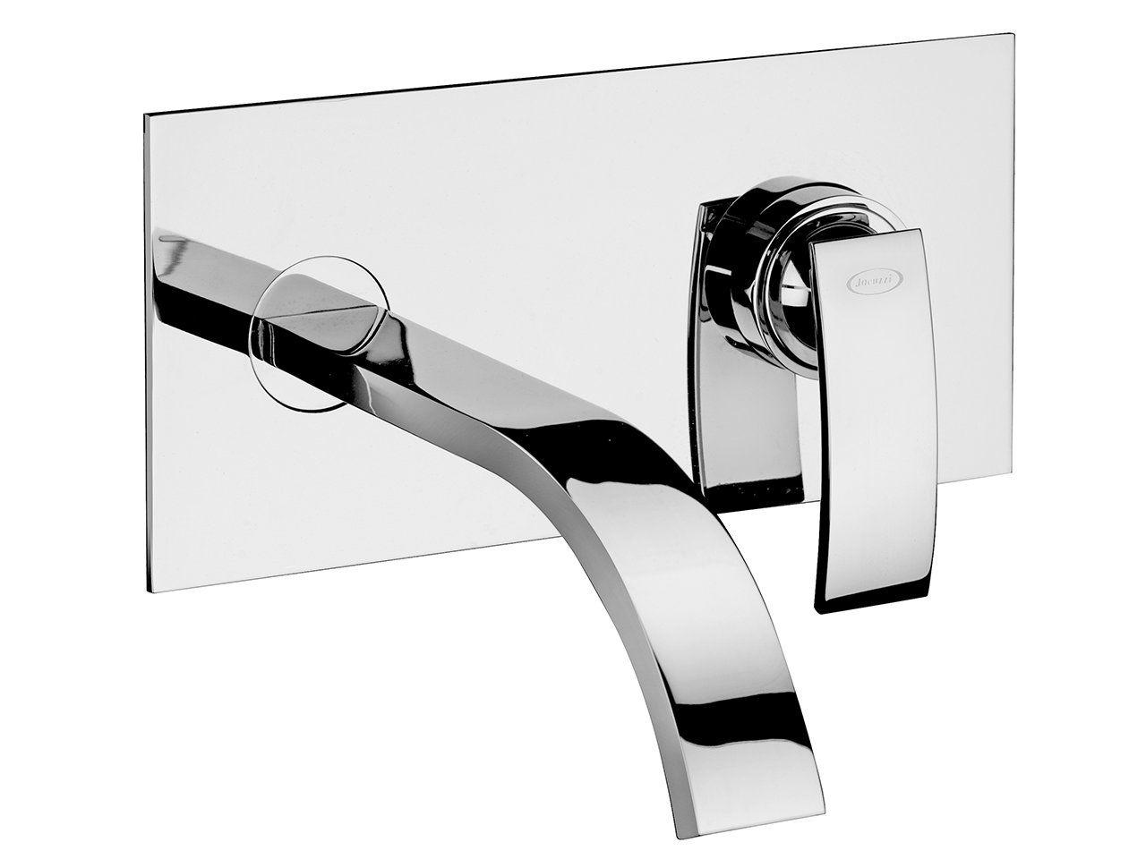 Miscelatore A Muro Per Lavabo jacuzzi® rubinetteria io quadro miscelatore lavabo a muro