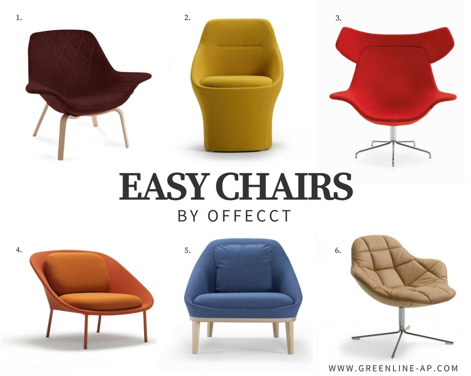 Easy Chairs By Offecct 1 Oyster Wood Low 2 Ezy 3 Oyster High 4