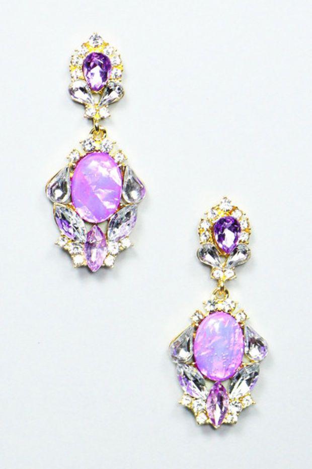 Lovely in Lavender Earrings