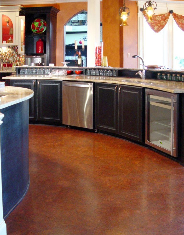 Qu Cork Cork Flooring Products Quiet Water Resistant Kitchen
