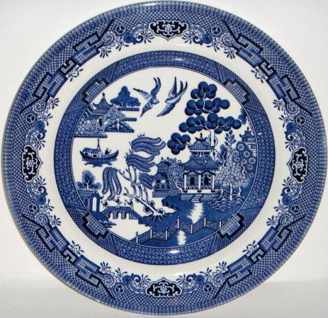 Churchill Blue Willow China Blue Willow China Blue Willow China Pattern Willow Pattern