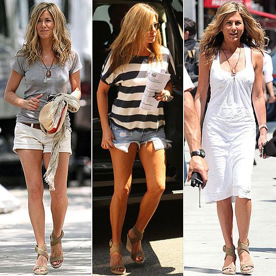 Jennifer Aniston's Wedges Go With Everything — You Can ...