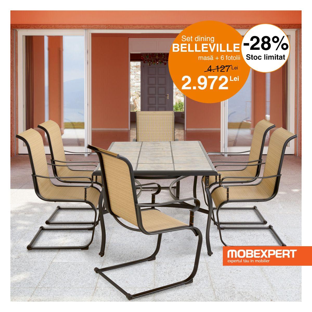 Setul Belleville Amenajeaza Cu Stil Locul Perfect Pentru Relaxare Cromatica Naturala Si Materialele De Outdoor Furniture Sets Outdoor Furniture Outdoor Chairs