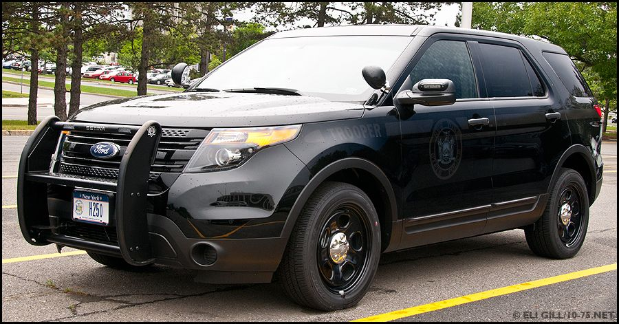 New York state police undercover Ford Explorer State