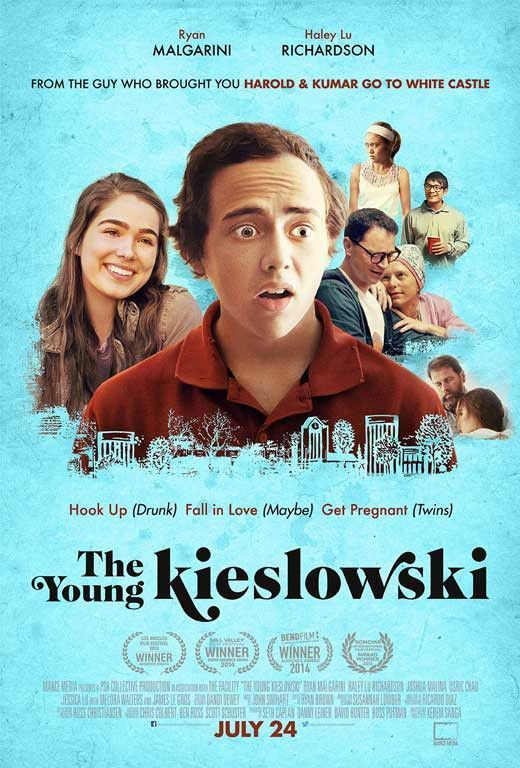 The Young Kieslowski 11x17 Movie Poster 2014 Haley Lu Richardson Pelis Cine