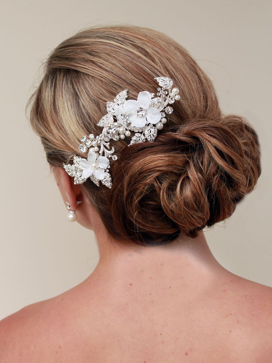 Hair comes the bride bohemian inspired rhinestone bridal clip