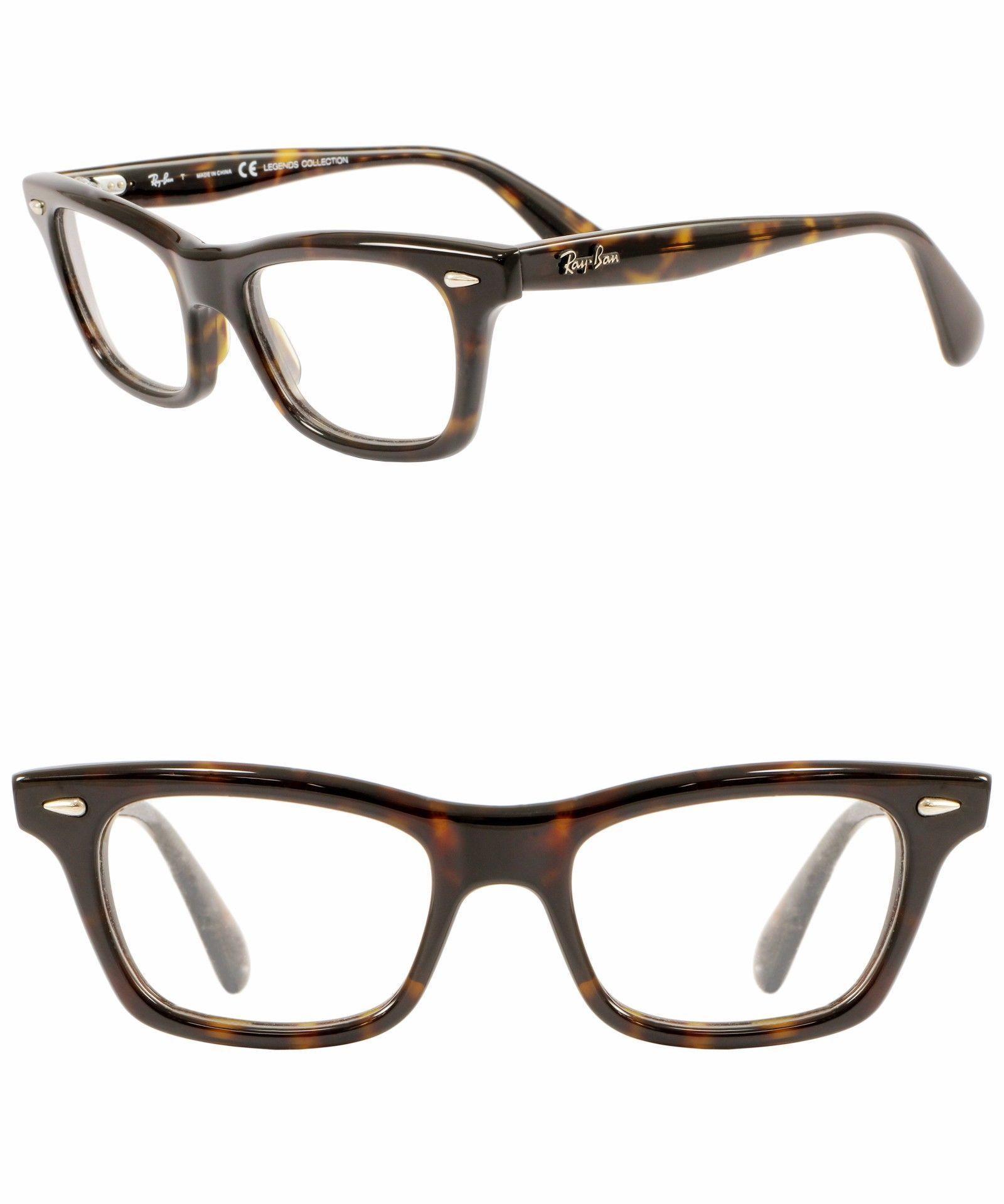 bb447cb95f029 Fashion Eyewear Clear Glasses 179240  Ray-Ban Rb 5281 2012 Unisex Brown  Tortoise Optical Rx Eyeglasses 51Mm - 247 -  BUY IT NOW ONLY   70.98 on  eBay!