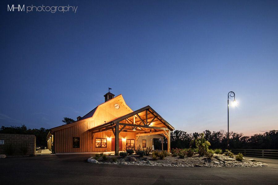 Reception Barn on our horse farm.