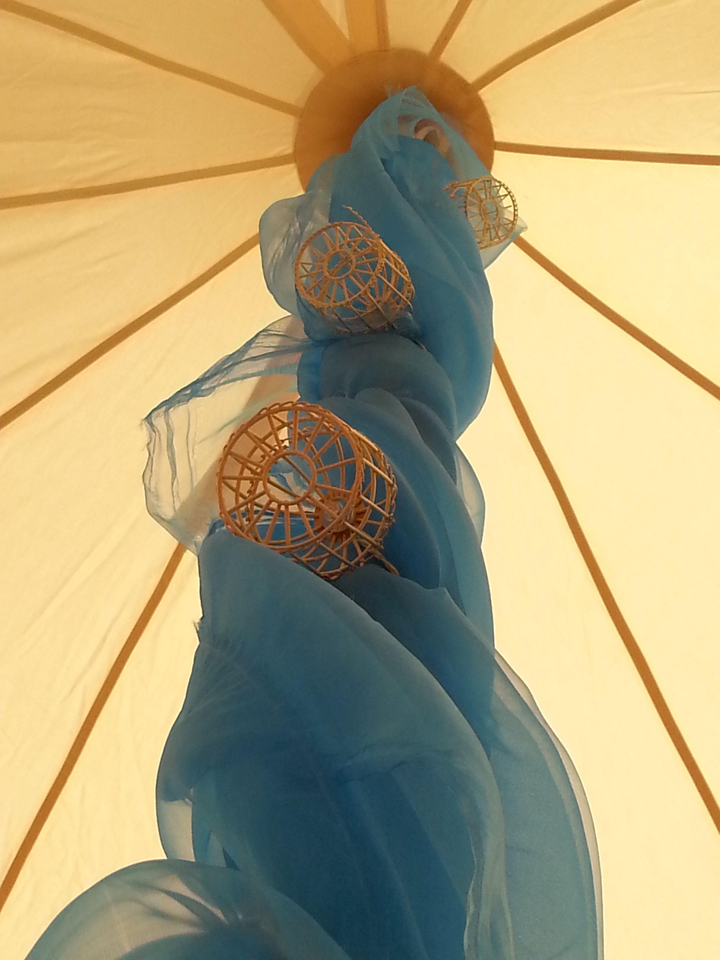 Bell Tent pole decoration & Bell Tent pole decoration   Large Tent Decor   Pinterest   Tent ...