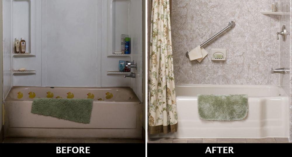 Replace Your Old Bathtub In 1 Day Old Bathtub Bathtub Bathrooms Remodel