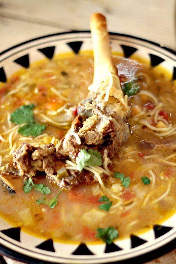 soupe fa on harira l 39 os de gigot les cuisines de garance id es recettes sal es salty food. Black Bedroom Furniture Sets. Home Design Ideas