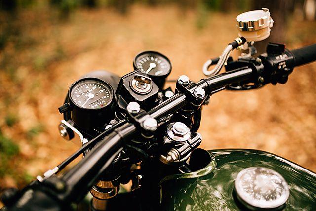 Yamaha RD400 - Atlanta Motorcycle Works | 2 Wheel