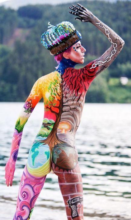 Photo of Cool #painting #bodyart #art # 43 + # # Ideas 43+ ideas for full body art painti…