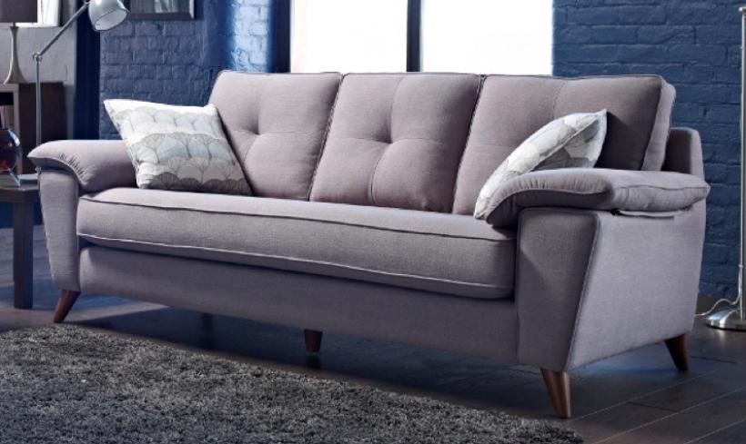 manhattan fabric vintage sofa  belfast northern ireland