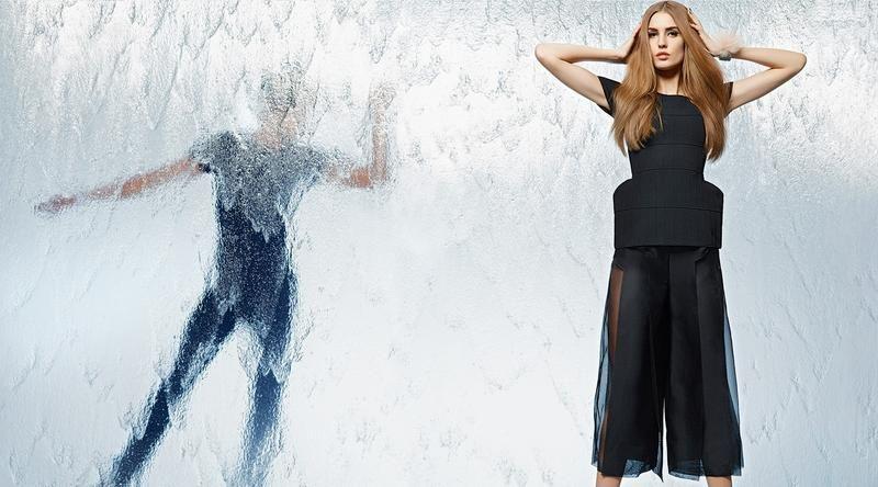 Fendi - Fendi S/S 14 Campaign  ~ Karl Lagerfeld Designer & Photographer ~ Nadja Bender Model~ |Kelley Brooks Pinner|