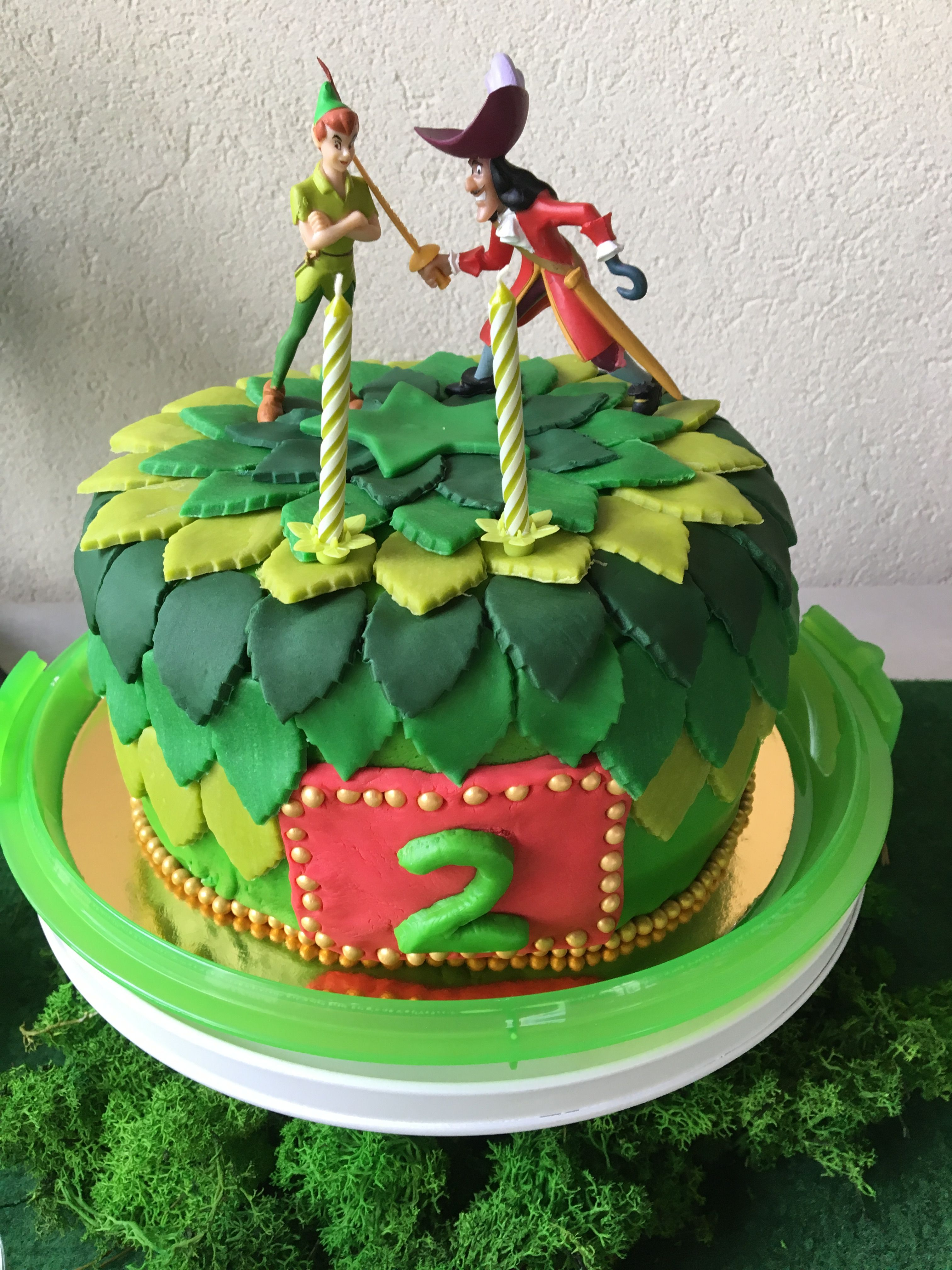 Amazing Design Cake Peter Pan With Images Peter Pan Cakes Peter Pan Personalised Birthday Cards Beptaeletsinfo