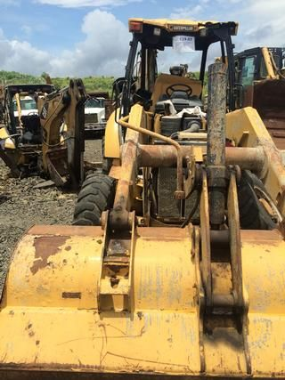Optimize 182968360 - Caterpillar Backhoe CAT 416E, CBD07629, 2011 (Damage & Missing Parts)