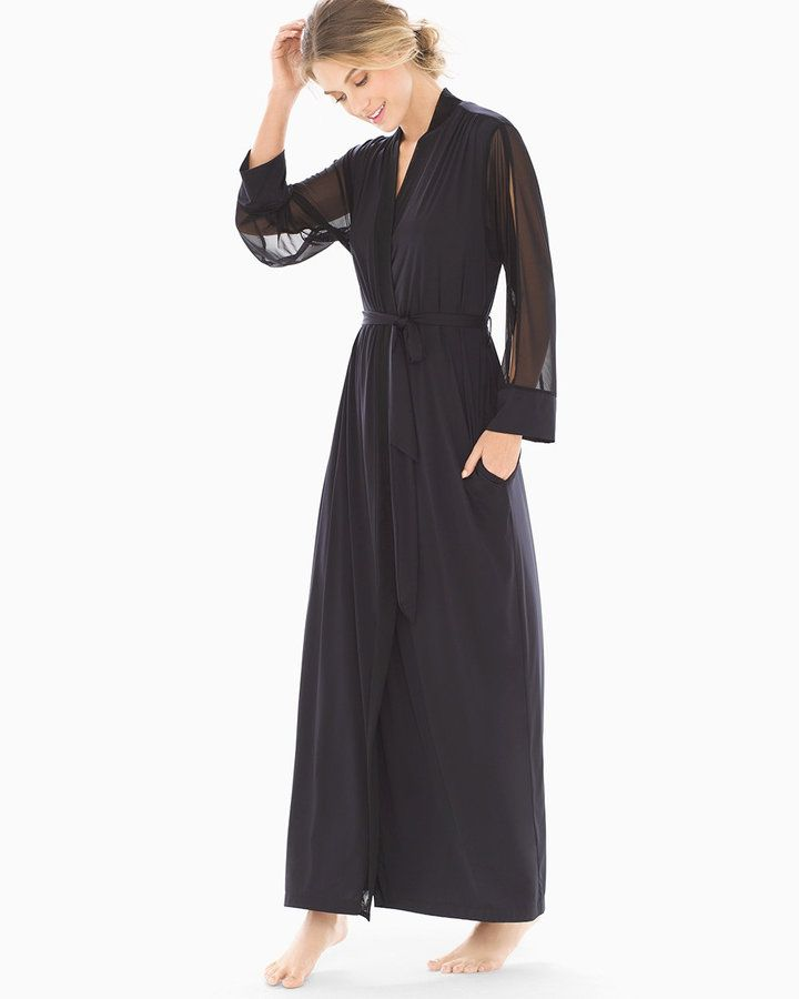 Soma Intimates Limited Edition Night Shimmer Long Robe bb59a9533