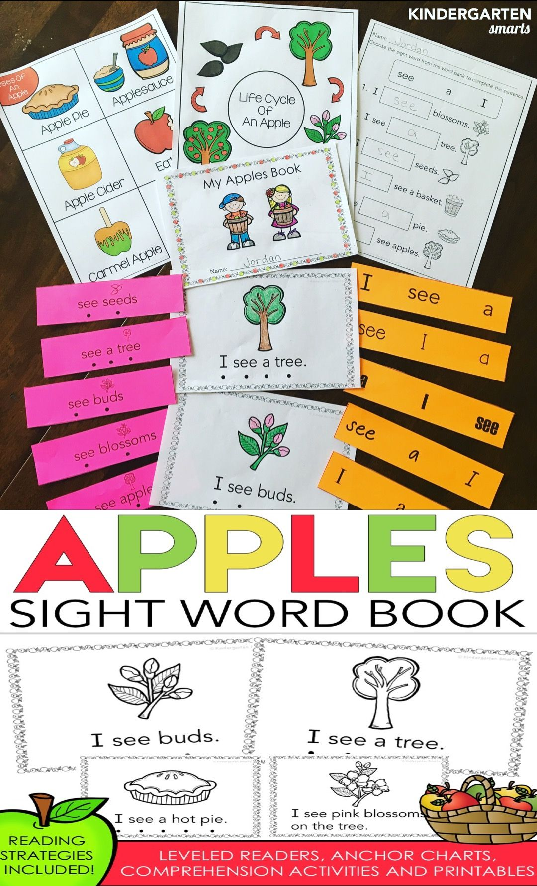 Apples Sight Word Book | Pinterest