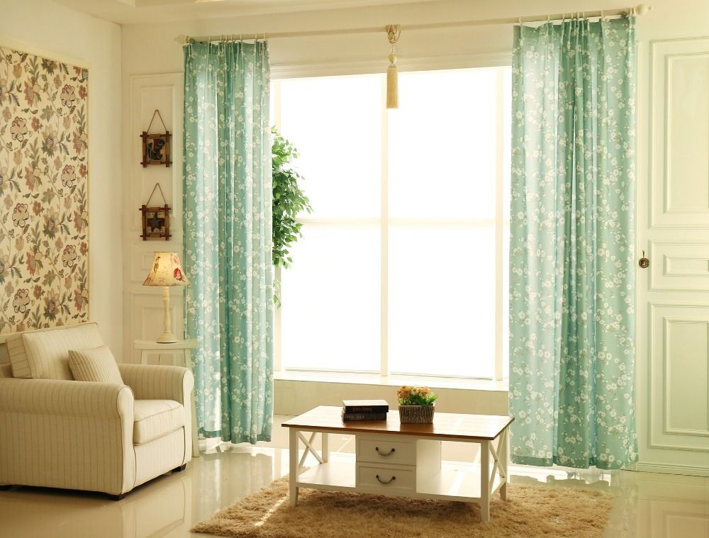 Thermal Insulated Blackout Curtain Design Living Room