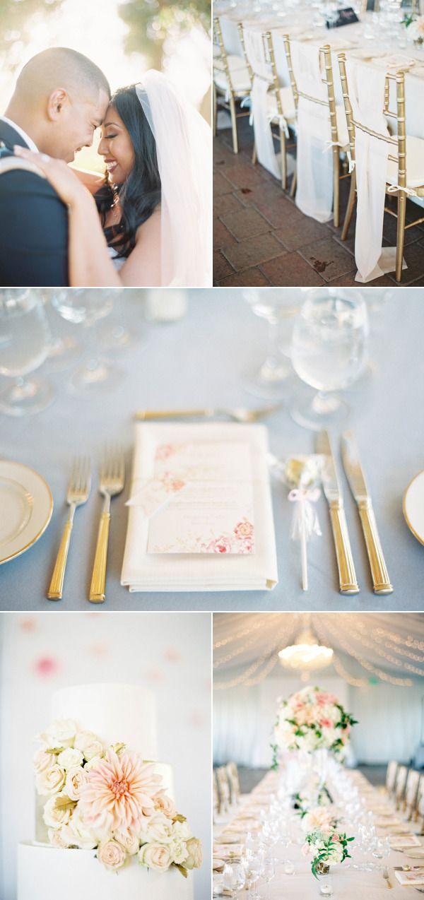 Glamorous Tented Sonoma Winery Wedding