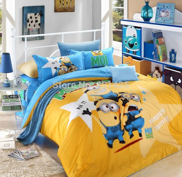 Minions Bedroom Idea Kids Bed Design Minion Room Decor Baby