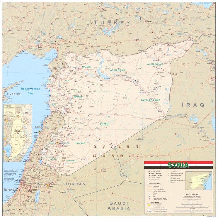 Epingle Par Our Colourful World Sur Syria سوريا Syrie Cartes